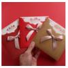 浮雕员工生日感恩可爱贺卡父亲节商务邀请函中秋节定制创意卡片
